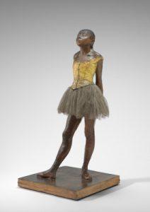 Little Fourteen-Year-Old Dancer by Edgar Degas, 1881