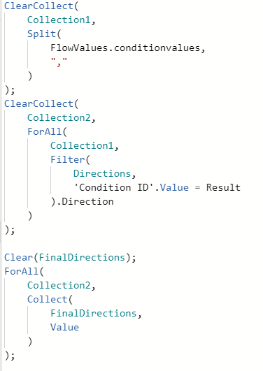 ClearCollect examples