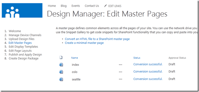 Design Manager In SharePoint Easier Layouts And Master Pages - Sharepoint design manager