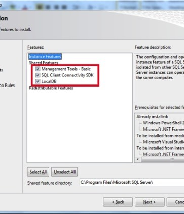 Install SQL Server 2012 Management Studio Express in Windows