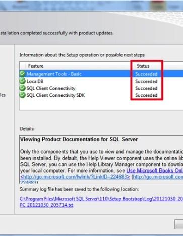 install sql server 2012 on windows 7