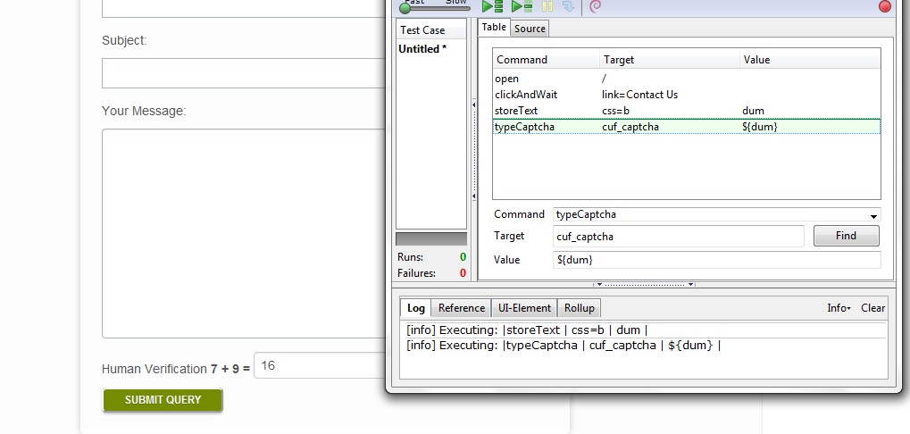 Automating Math Captcha using Selenium IDE - Perficient Blogs