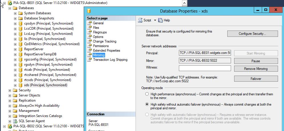 SQL-NoWitness
