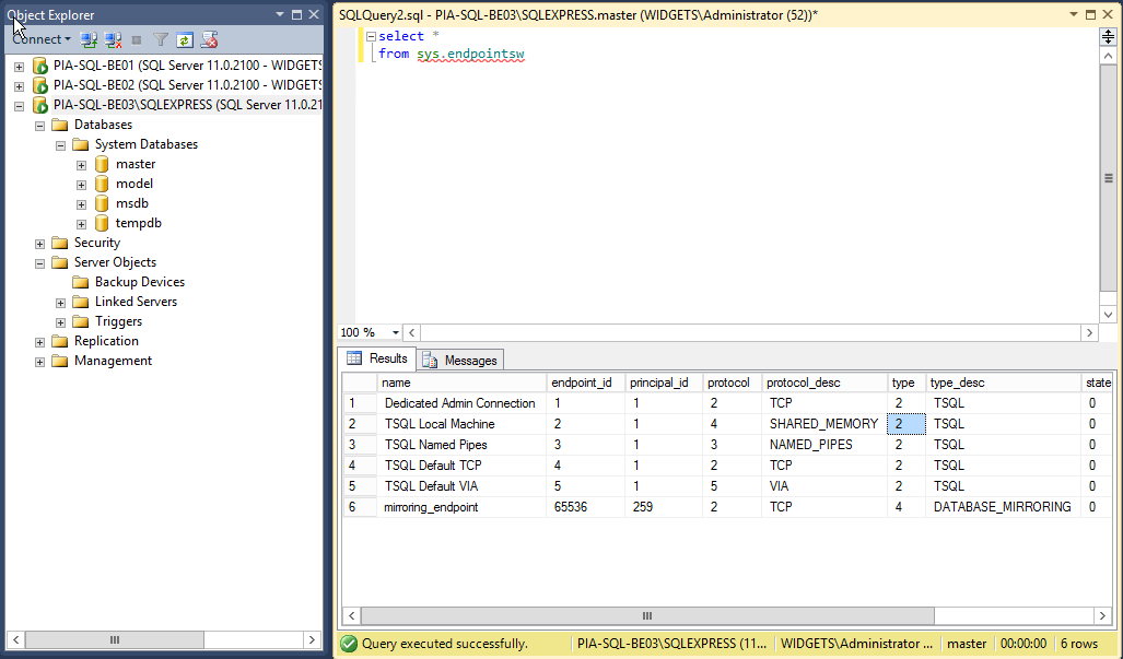 SQL-WithWitness-Config