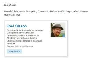 Joel Oleson
