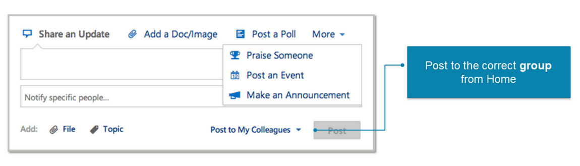 Yammer 101 Series - Posting - Perficient Blogs