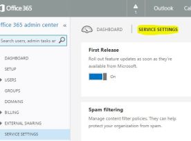 O365 First Release