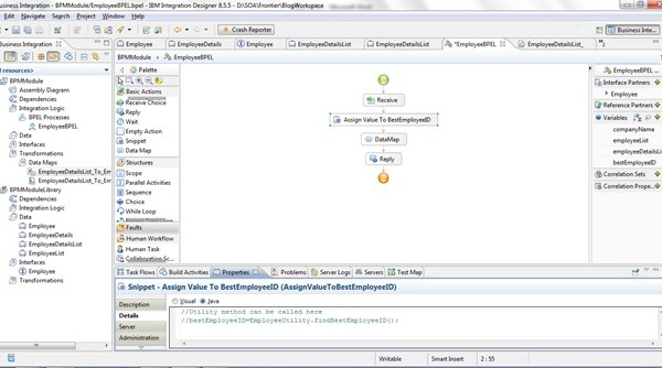 Xml Mapping Approaches Using Ibm Integration Designer 8 5 Perficient Blogs