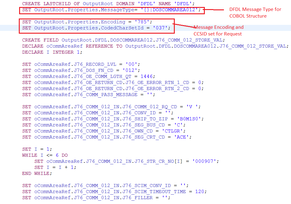 How to handle CICS requests from IBM Integration Bus(IIB