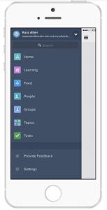 Salesforce1 Navigation Menu