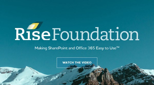 Rise Foundation SharePoint