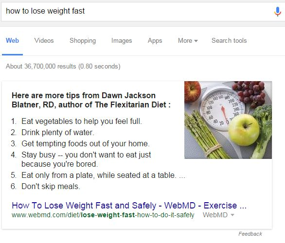Rich Answer How to Lose Weight Fast