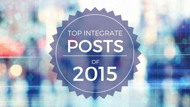 Top posts of 2015 - Integrate (1)