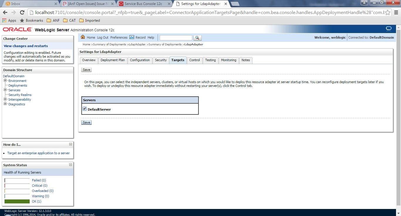 OSB - 12c LDAP Adapter Implementation - Perficient Blogs
