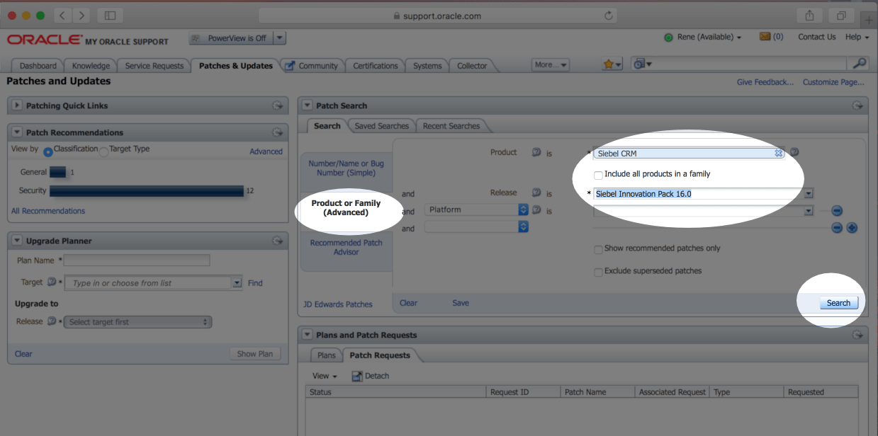 How To Find And Install The Latest Patchset For Siebel IP2016