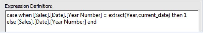 Data Item Expression
