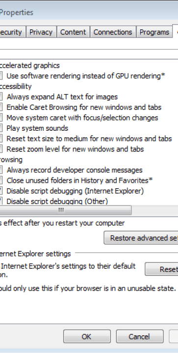 Configure IE 11 To Work With Siebel 8 1
