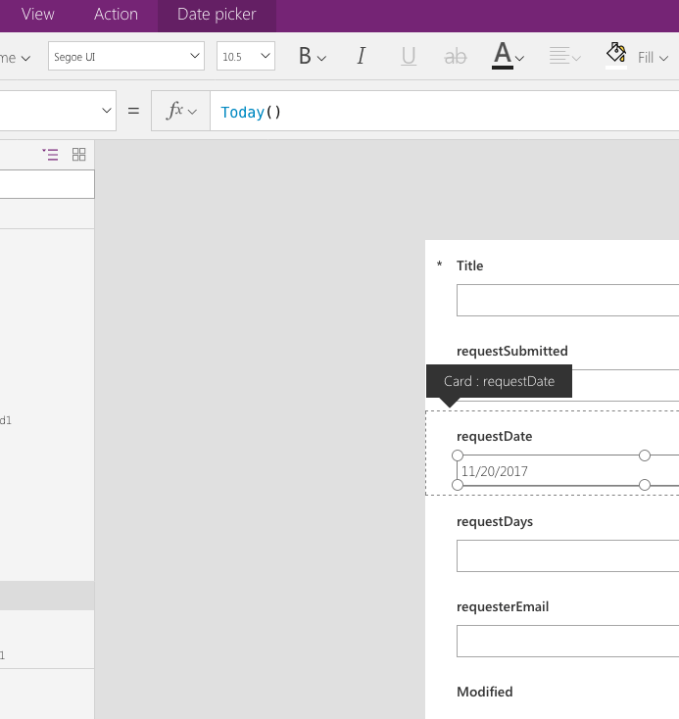 Customizing Your SharePoint Form with PowerApps is Live