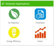Selected Applications Web Part