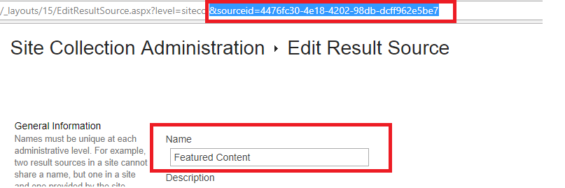 How to Search Using the Result Source Name with O365 Search