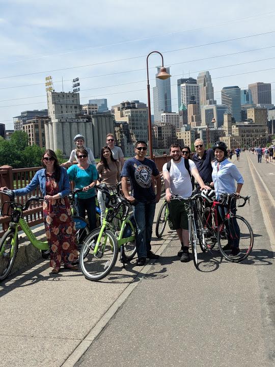 Bike to Work Day Perficient Minneapolis