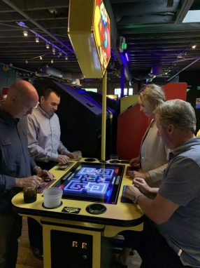 Perficient SoCal playing Pac-Man Battle Royale