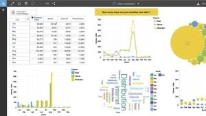 IBM Planning Analytics Dashboard