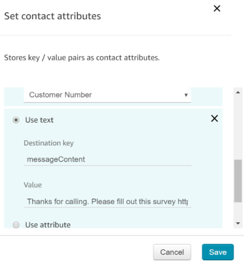Amazon-Connect-Set-Contact-Attributes