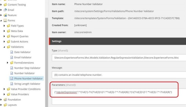 Sitecore Experience Forms