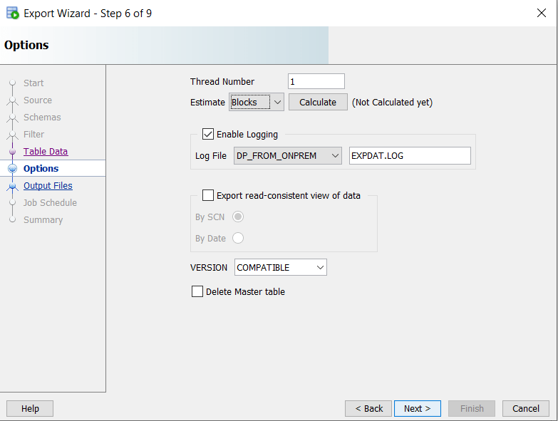 How to Export Oracle DB Schemas Using SQL Developer