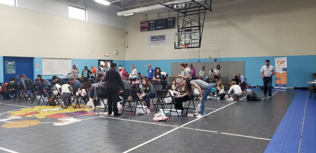 Charlotte team volunteers for Samaritan's Feet