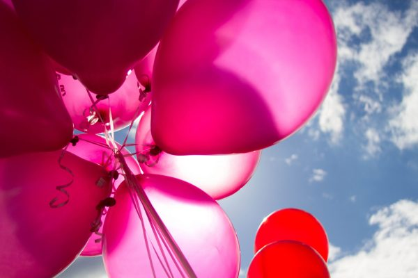 Pink And Red Balloons During Daytime 226718