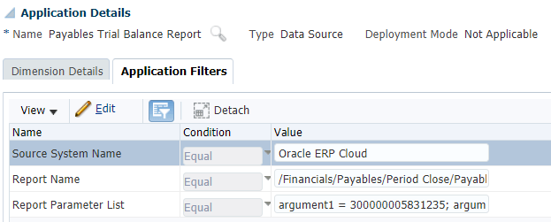 Application Filters