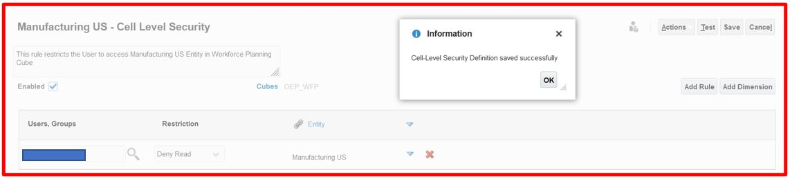 Cell Level Security 15