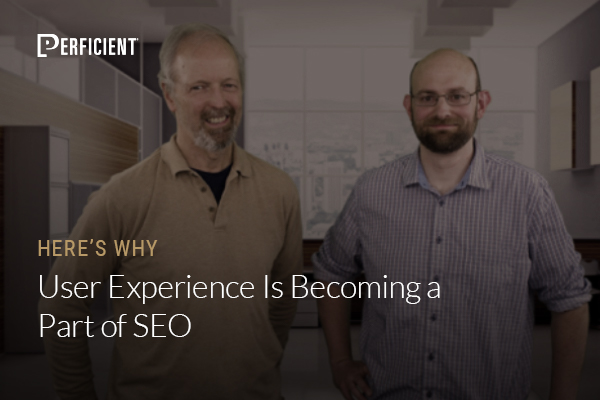 UX Is a part of SEO