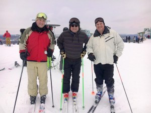 Kurt And Friends Skiing The Slopes