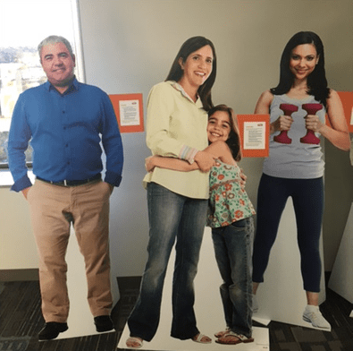 Life Size Personas As Visual Reminder