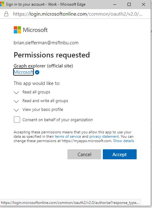 Permissionconsent