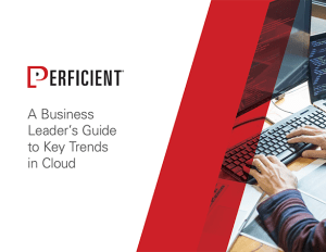 Platforms & Technology - A Business Leaders Guide to Principales tendances du cloud