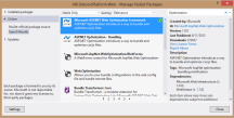 nuget installation screenshot