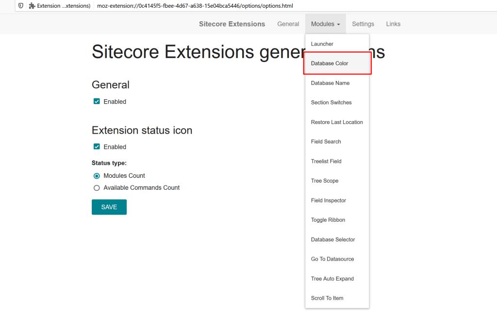 Sitecore Ext Screenshot 3