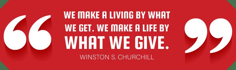 Winston S Churchill Quote