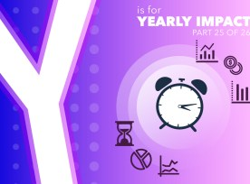 Y Is For Yearly Impact