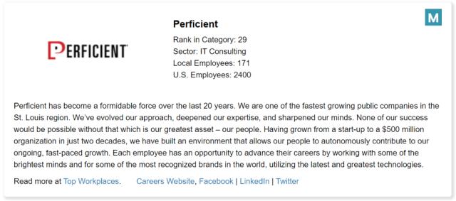 Perficient Top Workplace Atl 2021 Bio