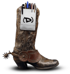 Big Design Conference Geek Cowboy Boot
