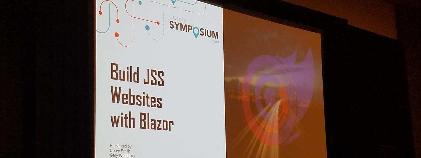 Sitecore Symposium JSS Session