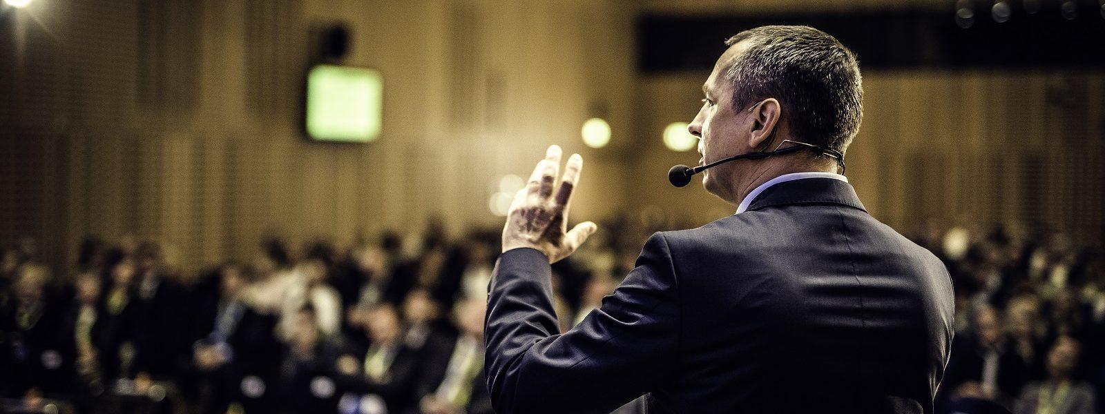 Back of a speaker