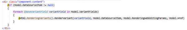 Code inside Image Component