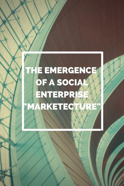 The emergence of a social enterprise marketecure