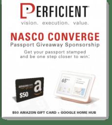 NASCO Converge - Perficient Passport Sponsorship